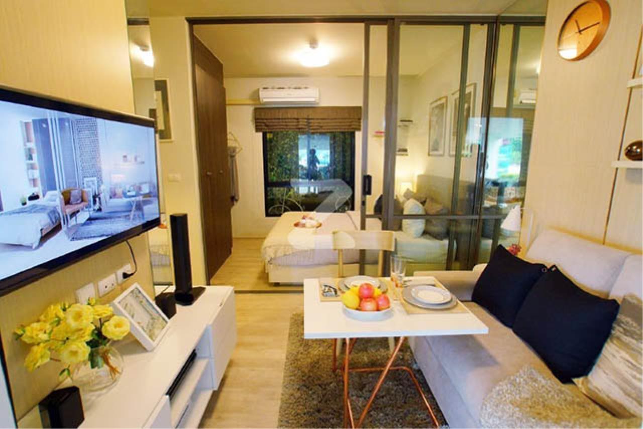 Agent - Sarunya jantanakorn Agency's BE0032 Condo for Sale Unio Ramkhamhaeng-Serithai fl.5th 27 sqm 1 bed near NIDA 1