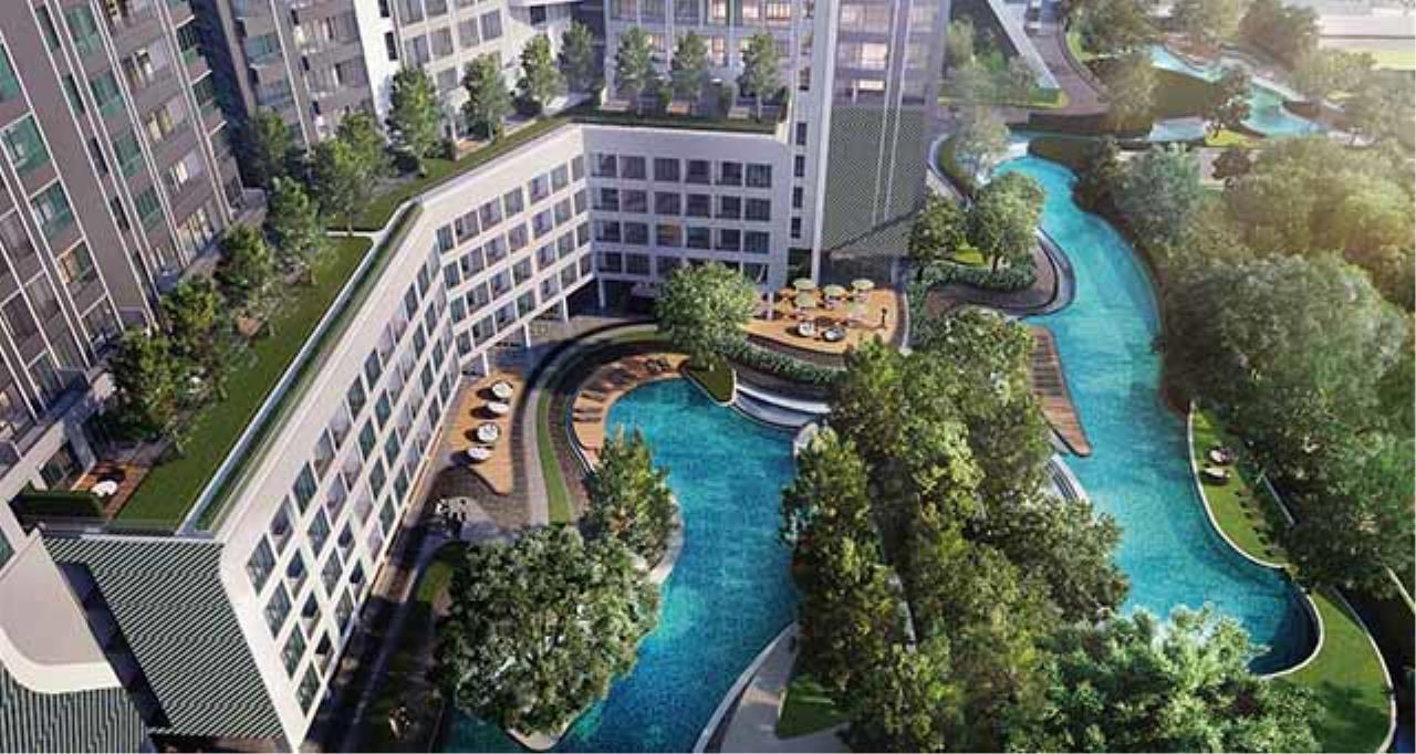 Agent - Sarunya jantanakorn Agency's BE0077 Condo for Sale Ideo O2 fl.12th 26 sqm near BTS Bang Na 2