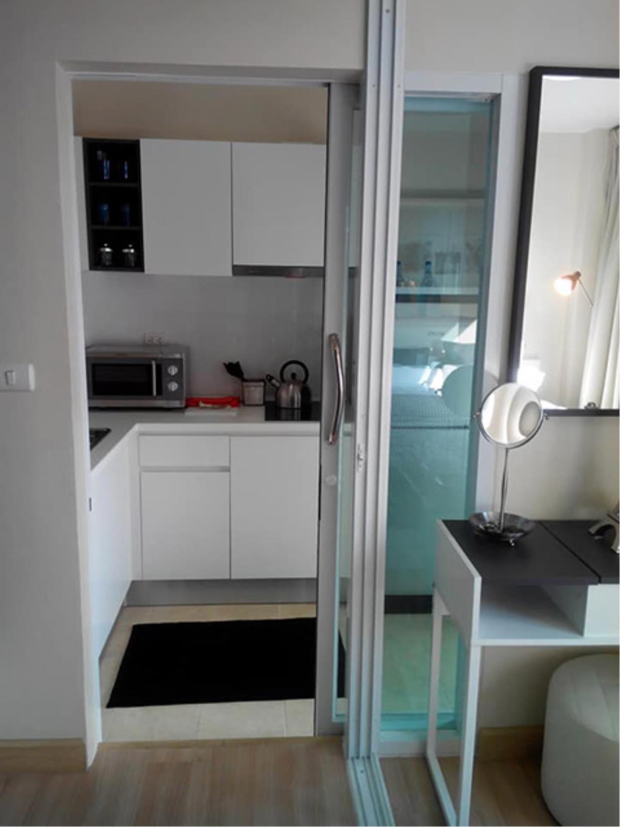Agent - Sarunya jantanakorn Agency's BE0117 Condo for Sale Kris Garden Rama 9 fl.6th 33 sqm 1 bed near MRT Rama 9 5