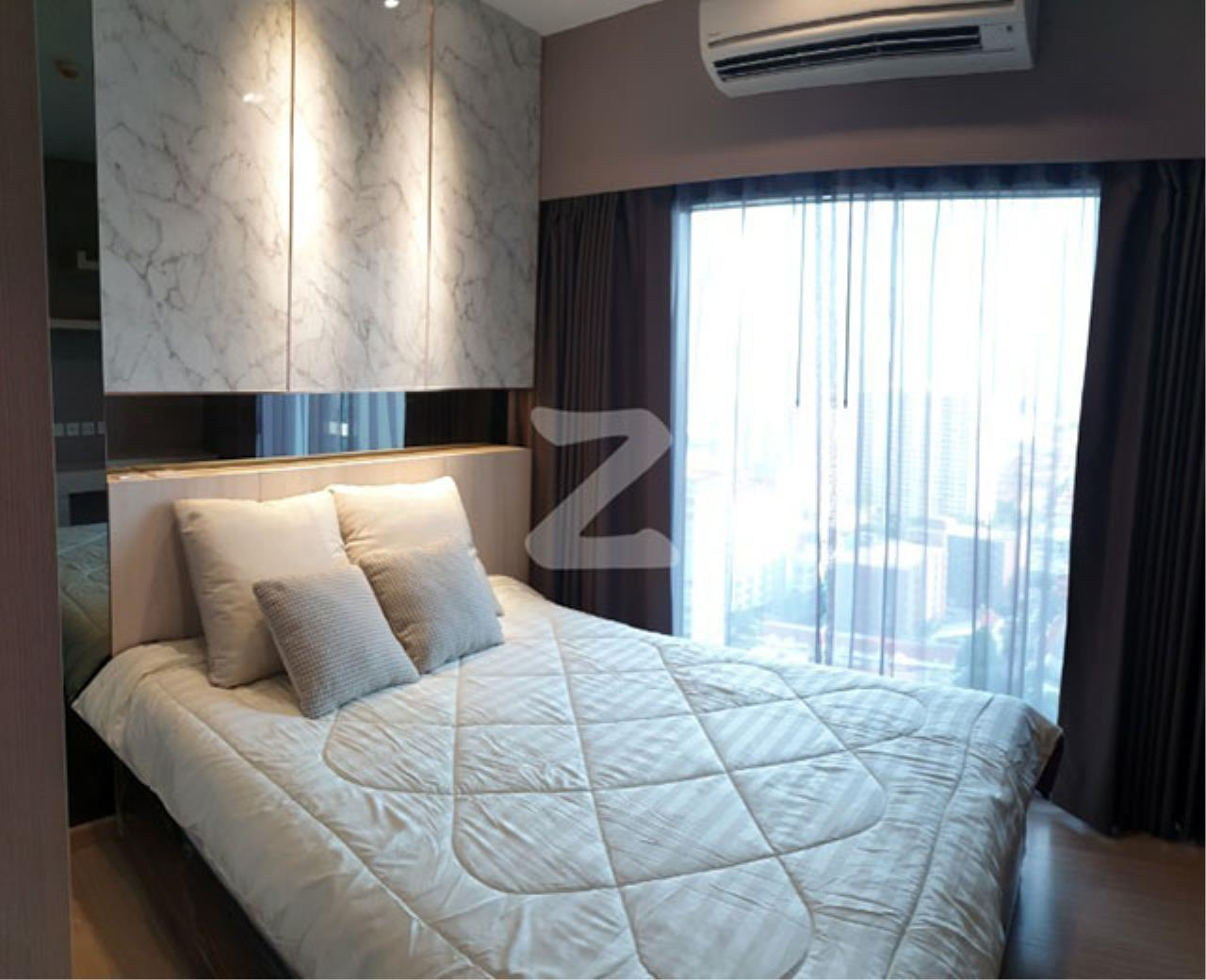 Agent - Sarunya jantanakorn Agency's BE0118 Condo for Sale Whizdom Connect Sukhumvit fl.21st 30 sqm 1 bed near BTS Punnawithi 1