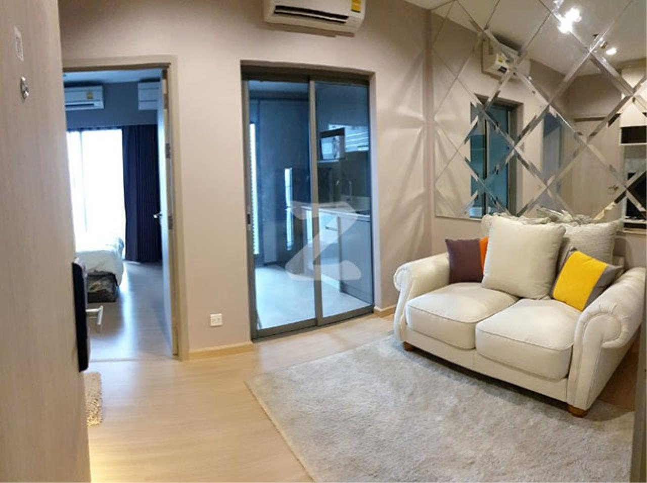 Agent - Sarunya jantanakorn Agency's BE0118 Condo for Sale Whizdom Connect Sukhumvit fl.21st 30 sqm 1 bed near BTS Punnawithi 4