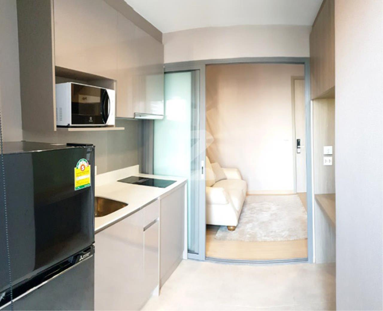 Agent - Sarunya jantanakorn Agency's BE0118 Condo for Sale Whizdom Connect Sukhumvit fl.21st 30 sqm 1 bed near BTS Punnawithi 6