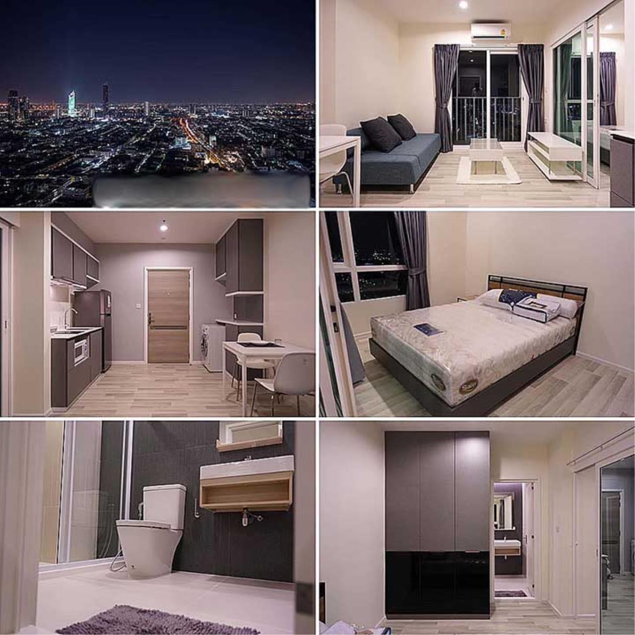 Agent - Sarunya jantanakorn Agency's BE0167 Condo for Sale The Key Sathorn-Charoenraj fl.37th 34 sqm near BTS Surasak 2