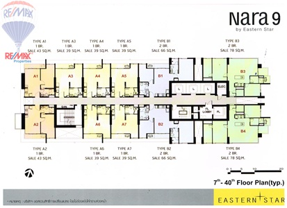 RE/MAX Properties Agency's SALE 2 Bedroom 66 Sq.m at Nara 9 by Eastern star 2