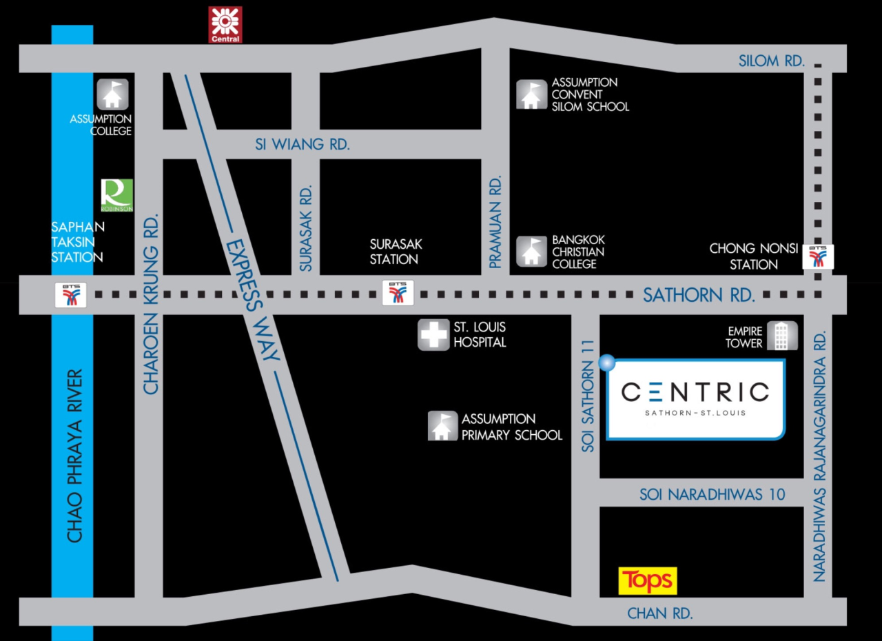 RE/MAX Properties Agency's Centric Sathon  21