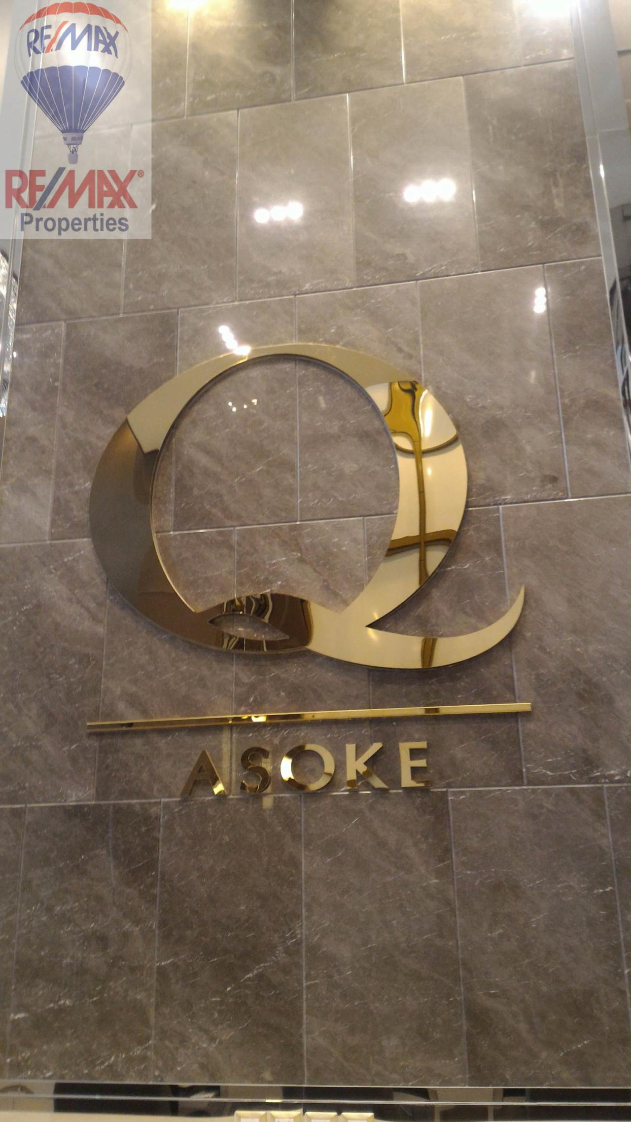 RE/MAX Properties Agency's Q Asoke 1 Bedroom For Rent 12