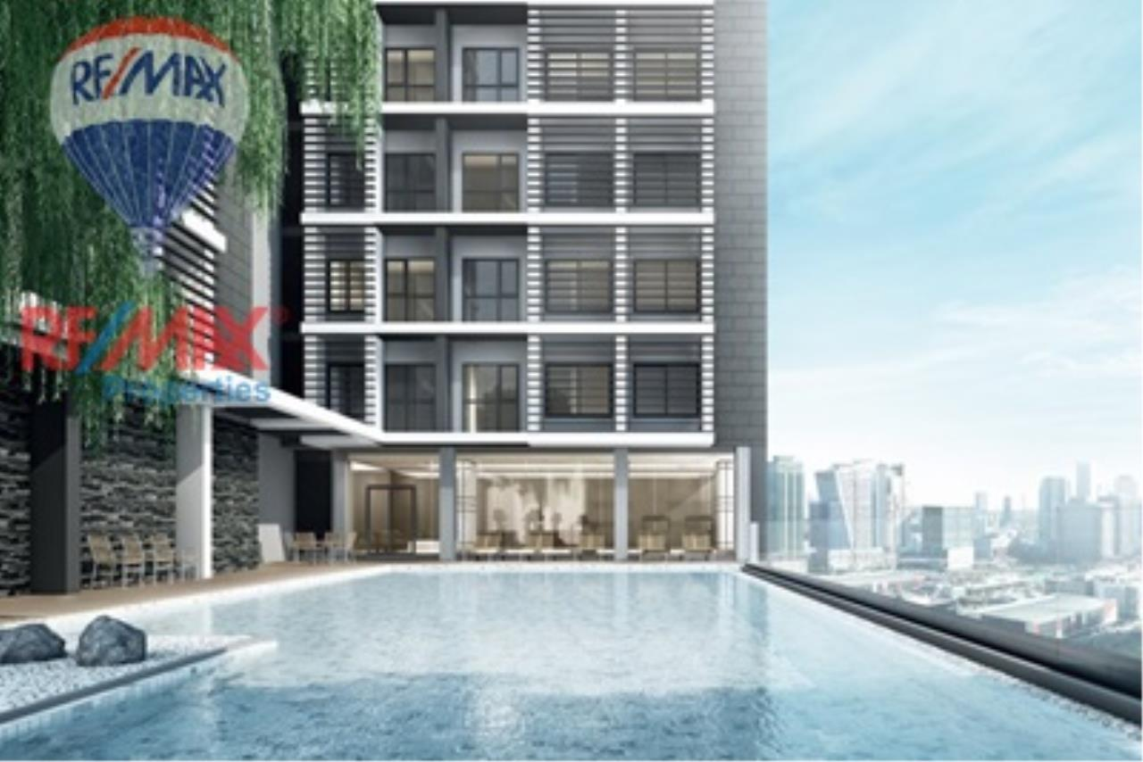 RE/MAX Properties Agency's For Rent!! 1 Bedroom 28 Sq.m @Rhythm Asoke 2 8