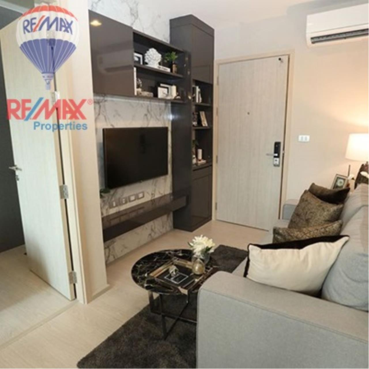 RE/MAX Properties Agency's FOR SALE - RHYTHM SUKHUMVIT 36-38 1 BED 33 SQM  5