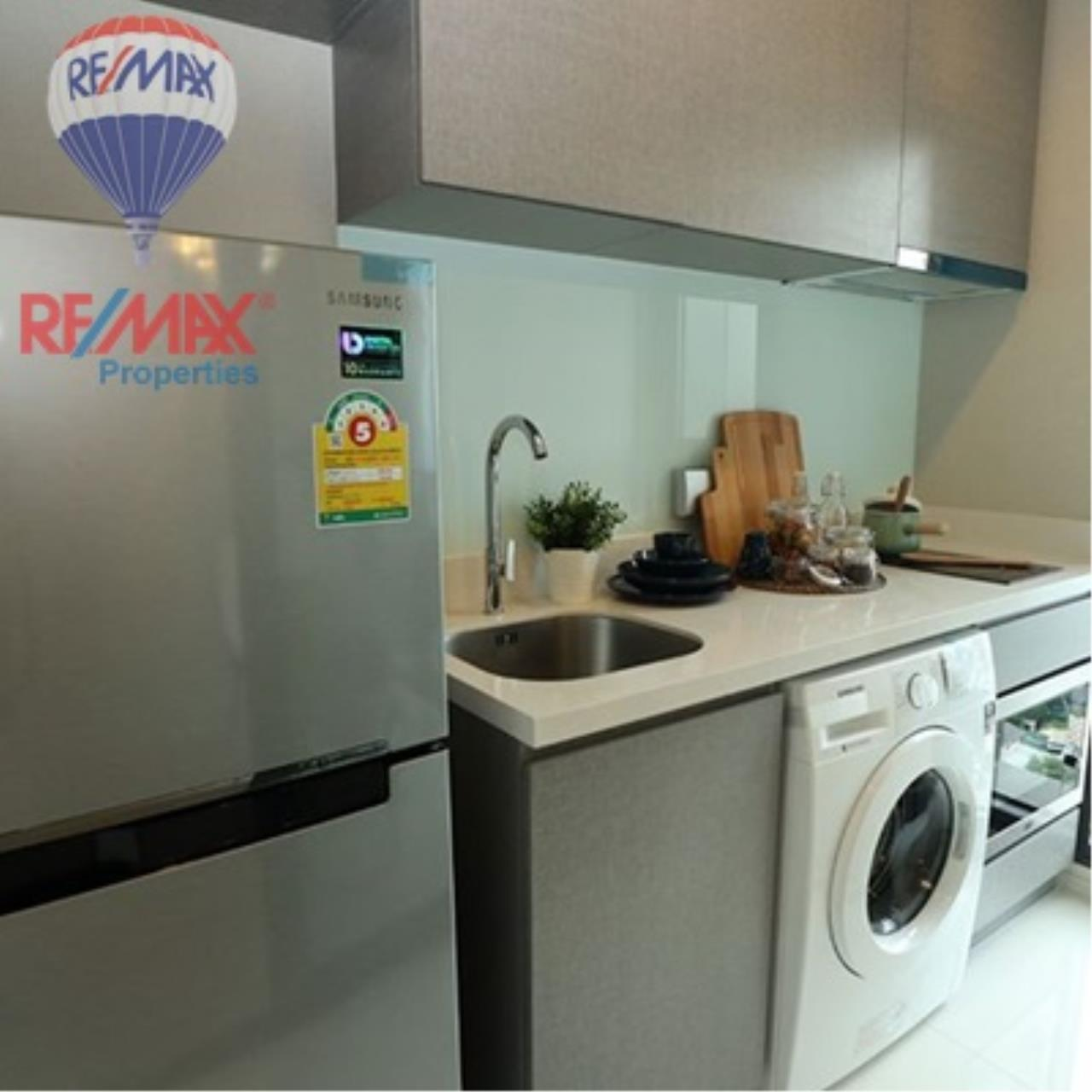 RE/MAX Properties Agency's FOR SALE - RHYTHM SUKHUMVIT 36-38 1 BED 33 SQM  8