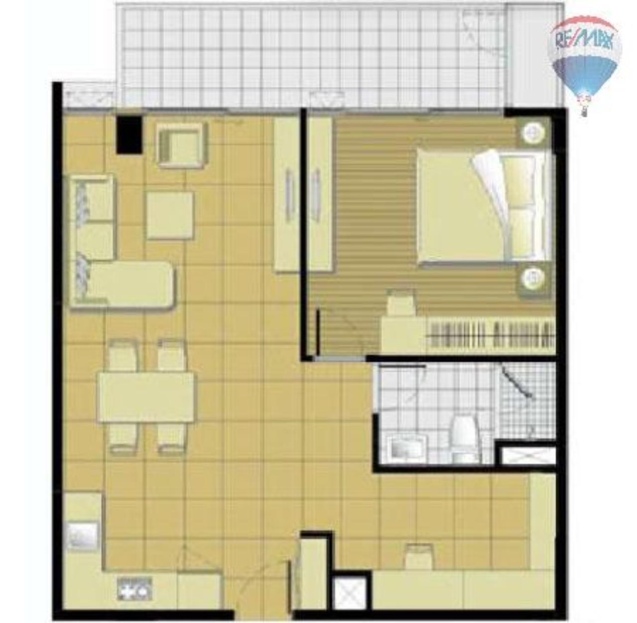 RE/MAX Properties Agency's 1 Bedroom 66 sq.m. for Rent at Haven Phaholyothin 3