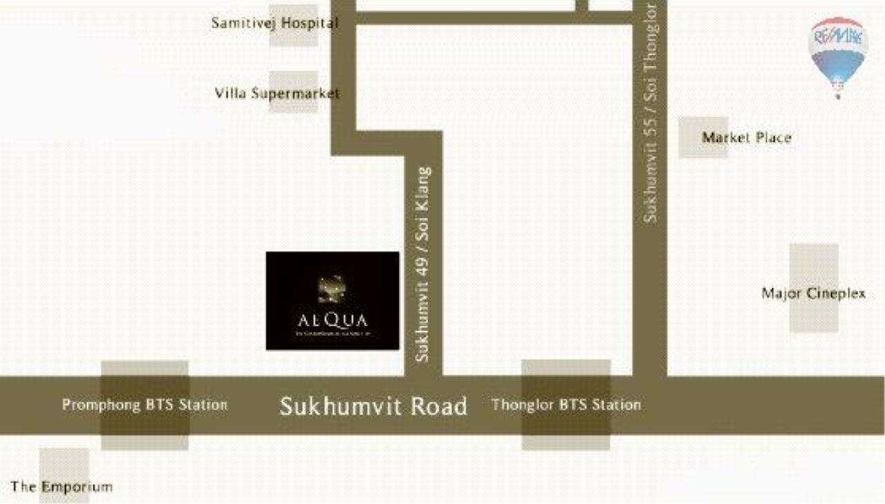 RE/MAX Properties Agency's Condominium for sale 1 bedroom 55.56 Sq.m. at Aequa 17
