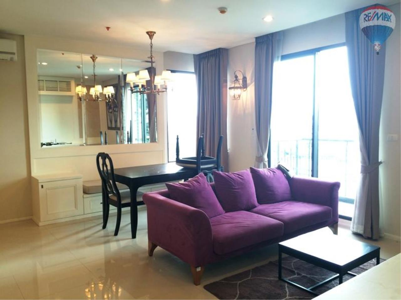 RE/MAX Properties Agency's Condo for RENT 2B/2B on Asoke, 86 sq.m., good view close to Airport link 1