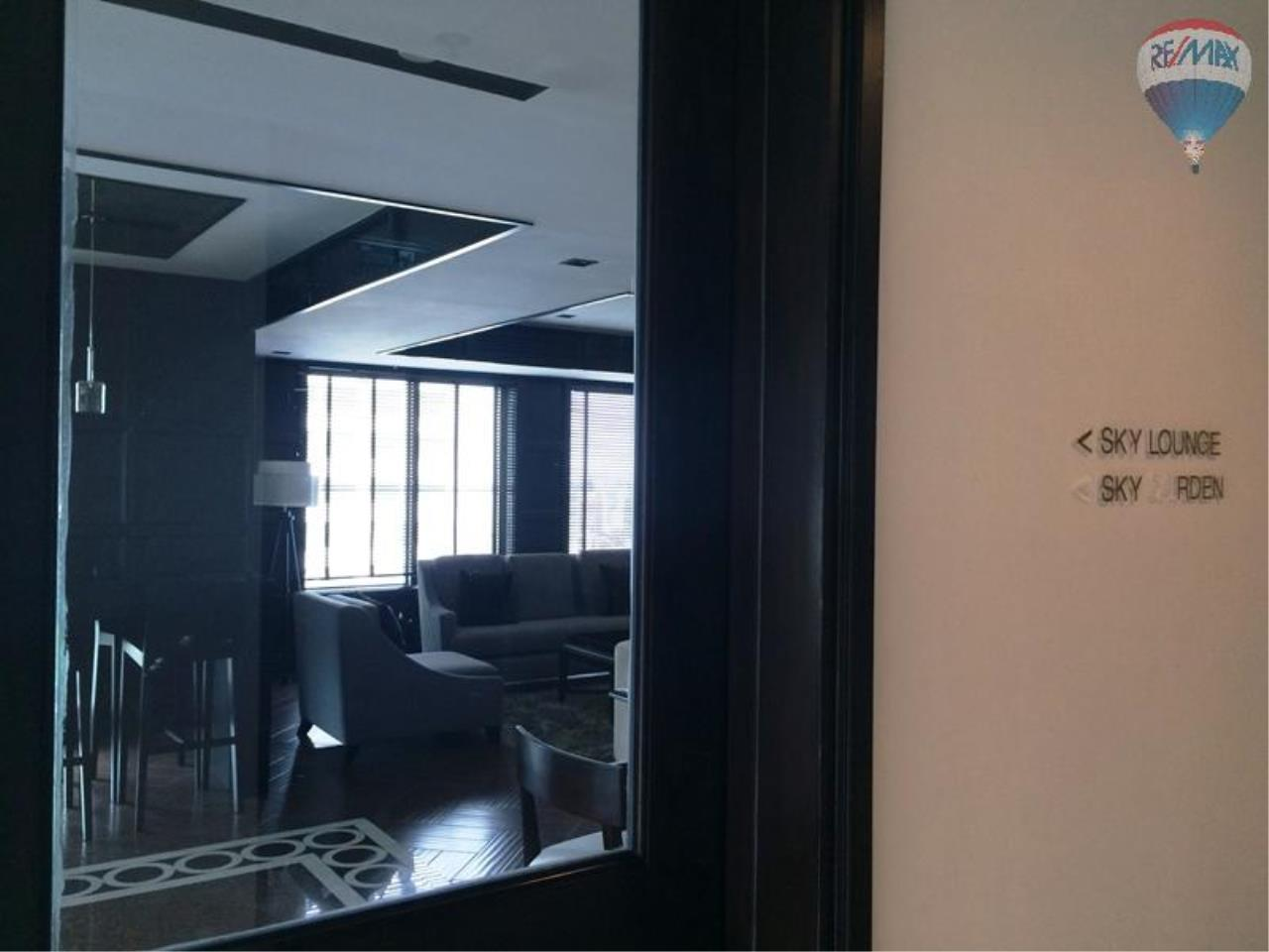 RE/MAX Properties Agency's Condo for RENT 2B/2B on Asoke, 86 sq.m., good view close to Airport link 15