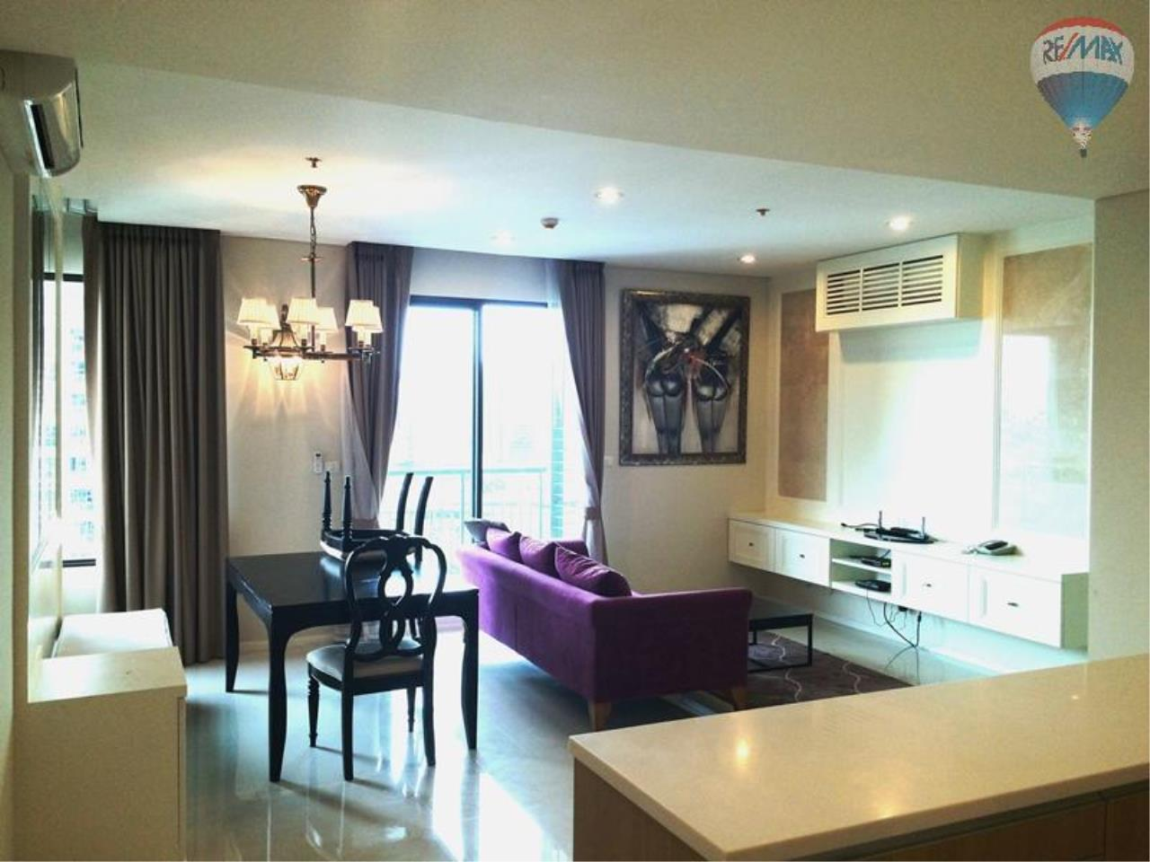 RE/MAX Properties Agency's Condo for RENT 2B/2B on Asoke, 86 sq.m., good view close to Airport link 4