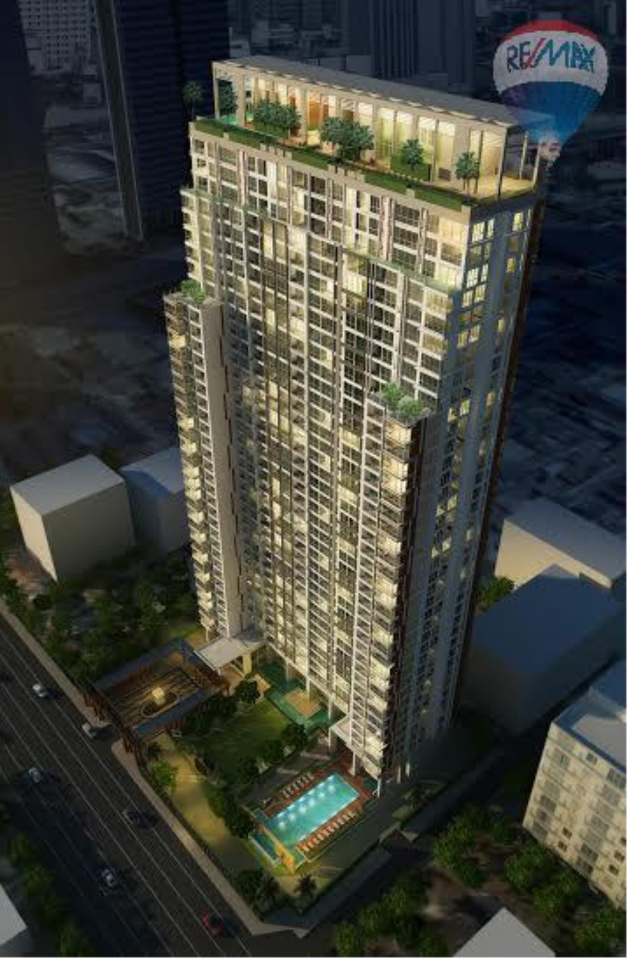 RE/MAX Properties Agency's 2 Bedrooms 80.5 Sq.M. for renting 60K in The Address Sathorn 2