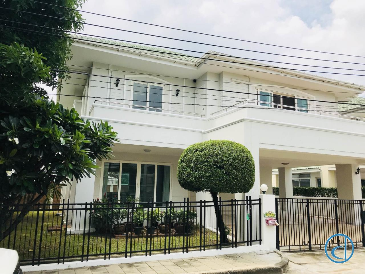 Orchid Media, Co Ltd. Agency's Sell House, Baan Suan Romklao-Suvarnabhumi 1