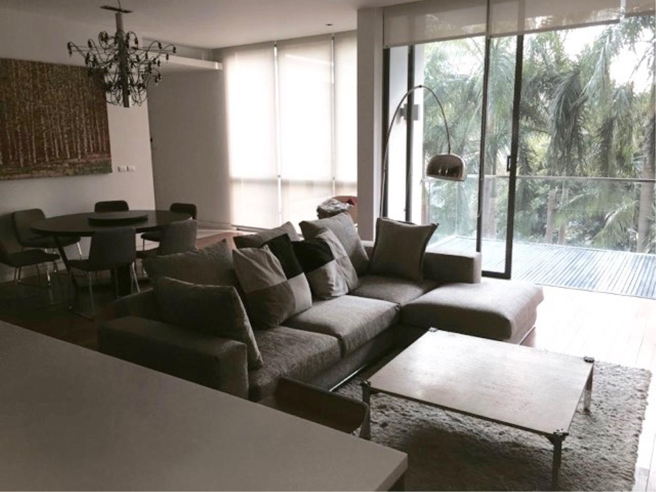 Right Move Thailand Agency's CA289 For Rent Domus Condo 95,000 THB 2+1 Bedrooms 167 Sqm 4
