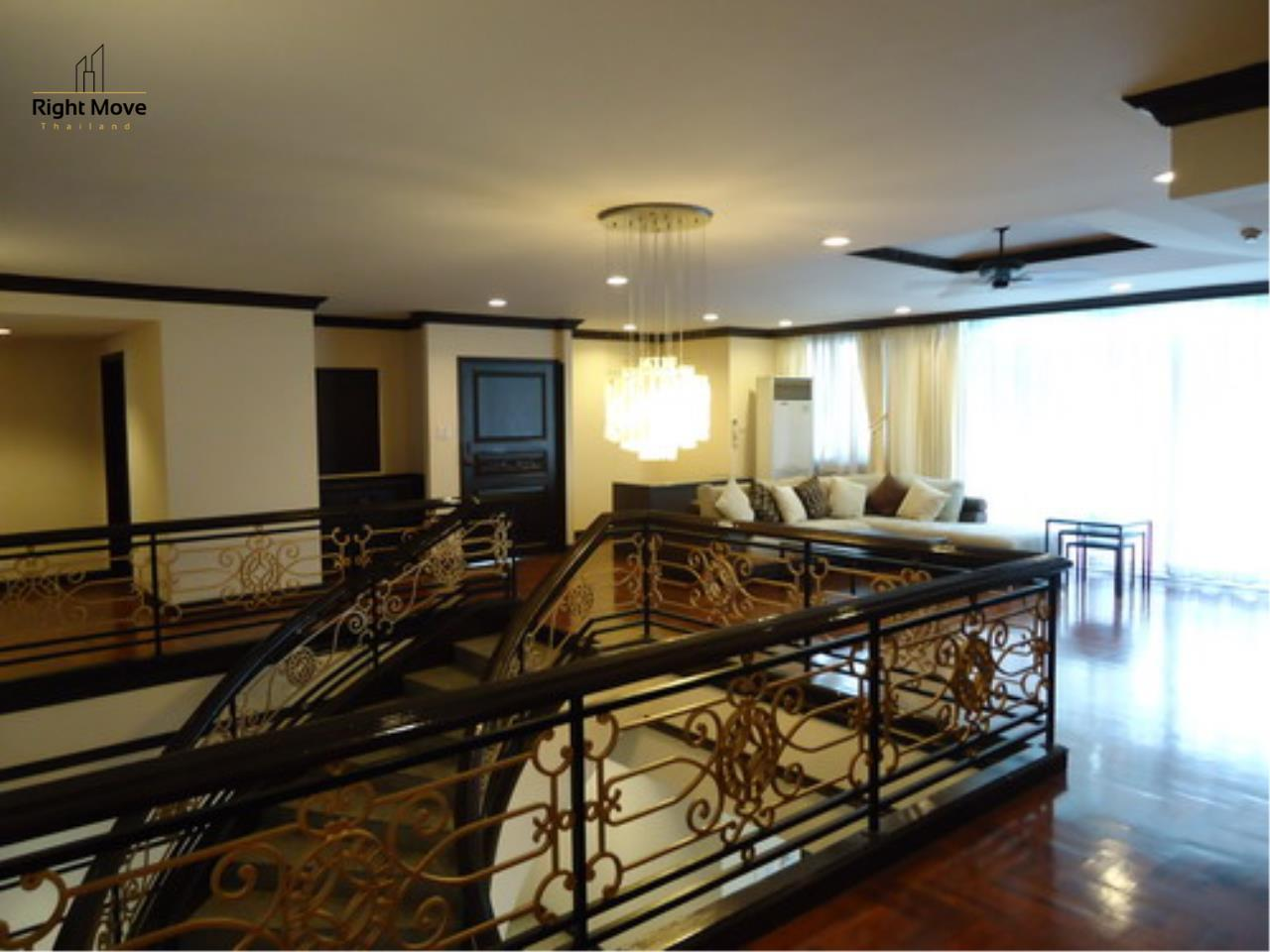 Right Move Thailand Agency's CA3559 Penthouse Duplex For Rent 150,000 THB 4+1 Bedrooms 600 Sqm 2