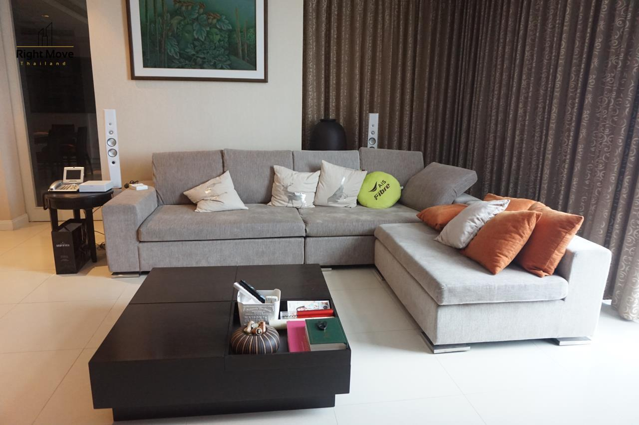 Right Move Thailand Agency's CA4827 For Rent Athenee Residence 3+1 Bedrooms For Rent 180,000 THB 220 Sqm 1