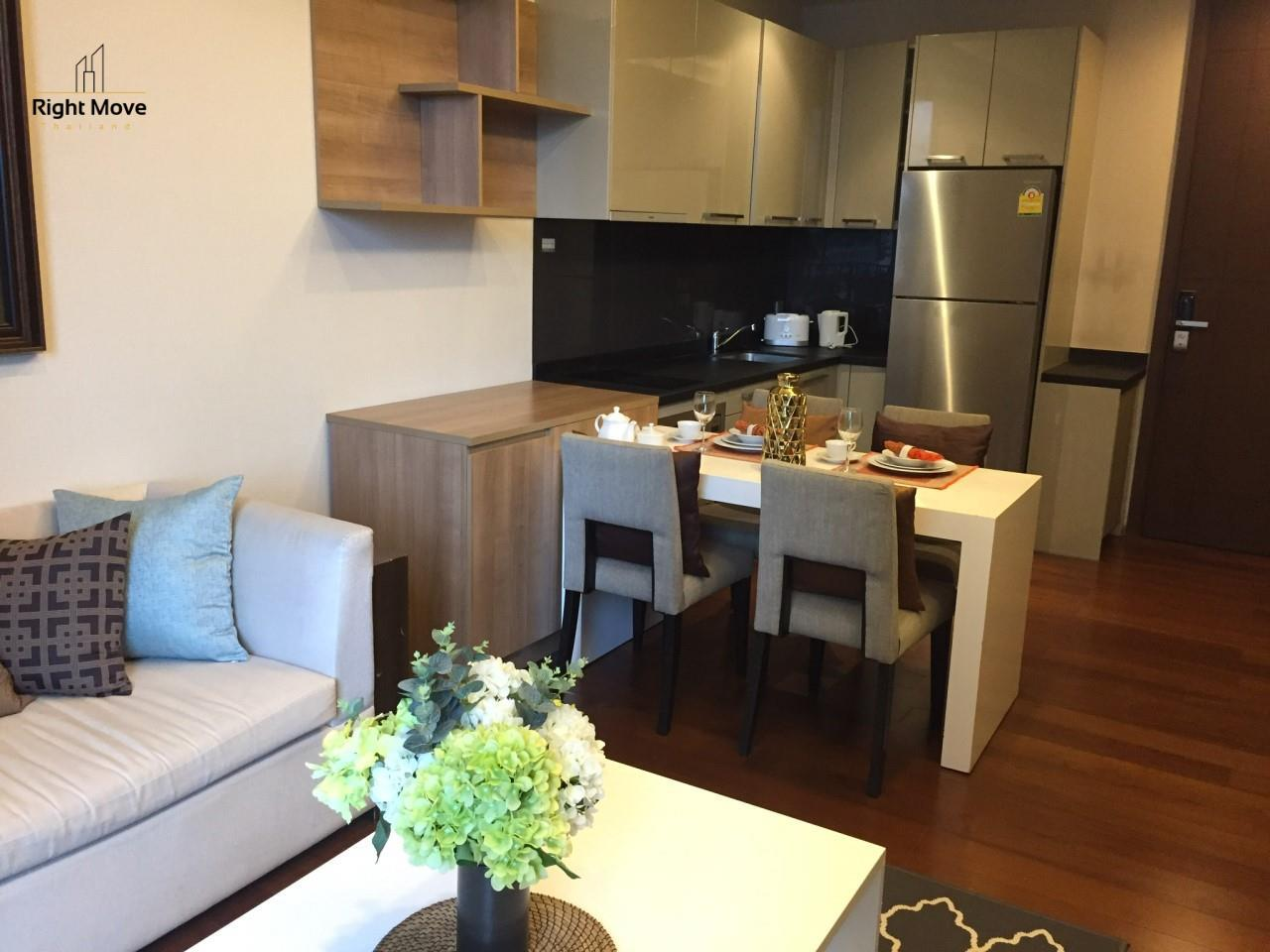 Right Move Thailand Agency's CA5349 For Rent Quattro Thonglor 50,000 THB & For Sale 12,500,000 THB 1 Bedroom 52 Sqm 4