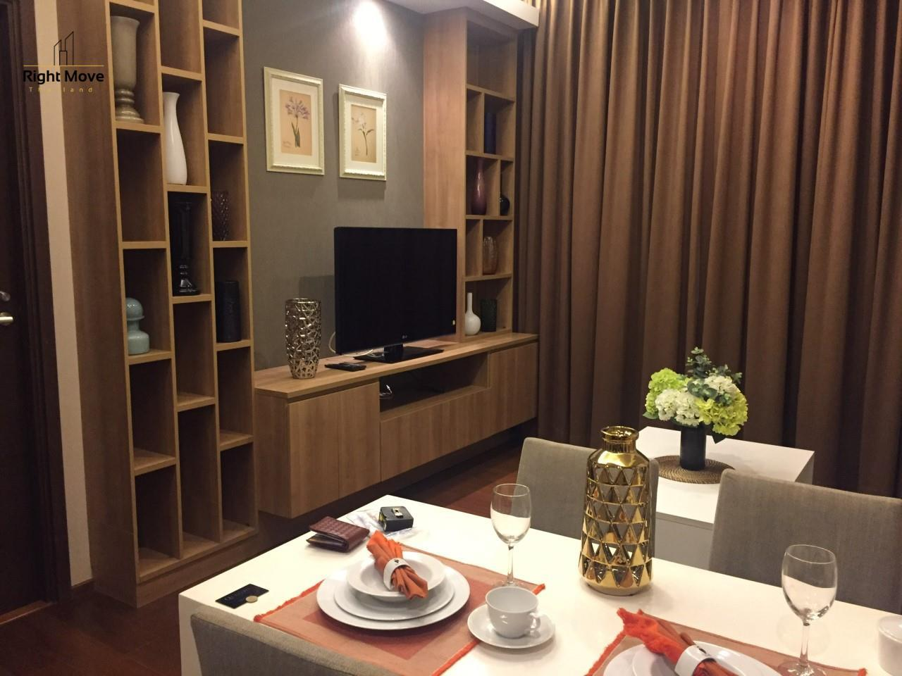 Right Move Thailand Agency's CA5349 For Rent Quattro Thonglor 50,000 THB & For Sale 12,500,000 THB 1 Bedroom 52 Sqm 5