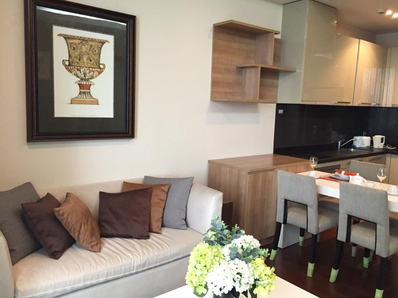 Right Move Thailand Agency's CA5349 For Rent Quattro Thonglor 50,000 THB & For Sale 12,500,000 THB 1 Bedroom 52 Sqm 2