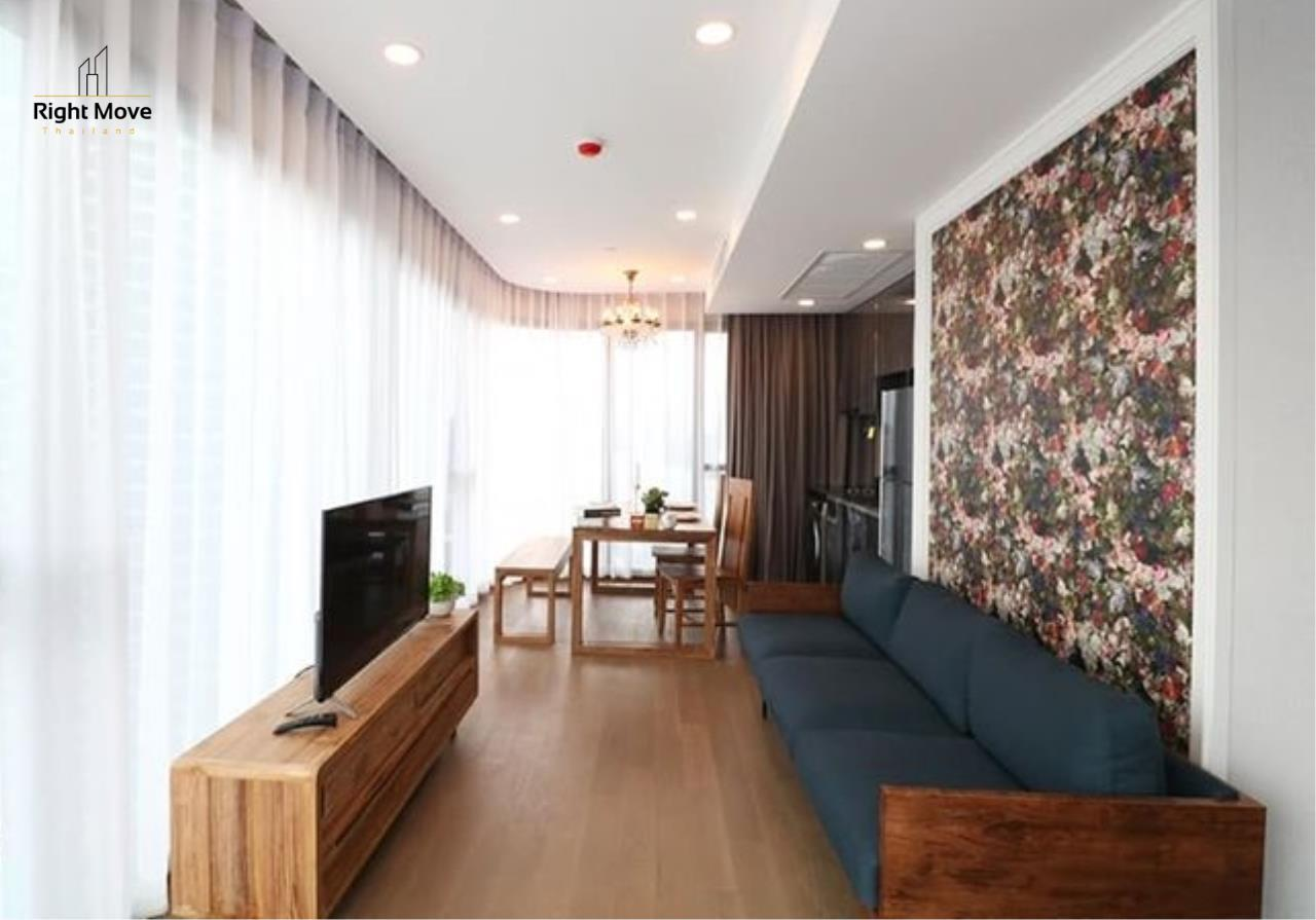 Right Move Thailand Agency's CA5959 Ashton Chula for rent - 65,000THB - 2 Bedrooms - 66 sqm. 1