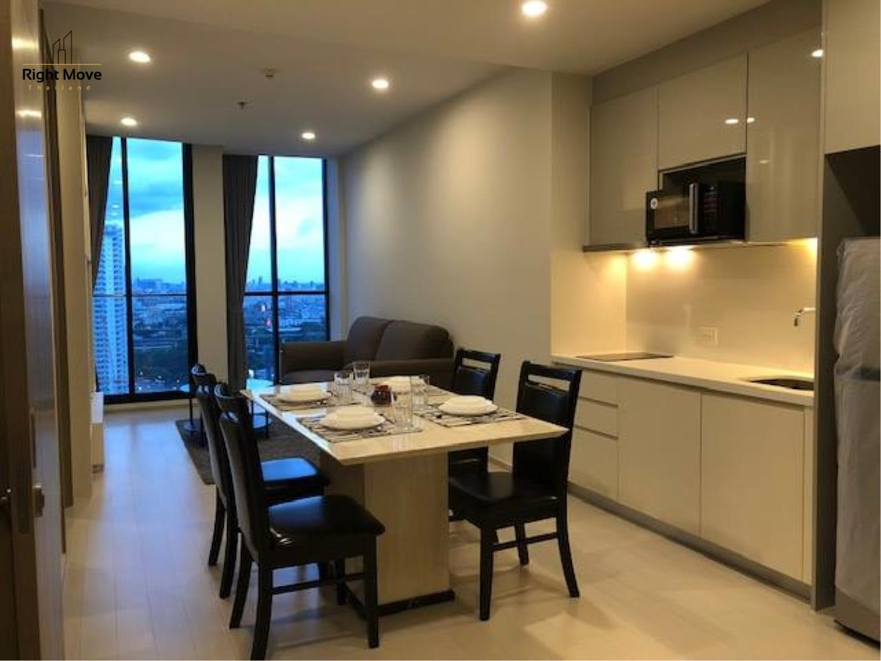 Right Move Thailand Agency's CA6095 Noble Ploenchit for rent - 75,000THB - 2 Bedrooms - 75 sqm. 1