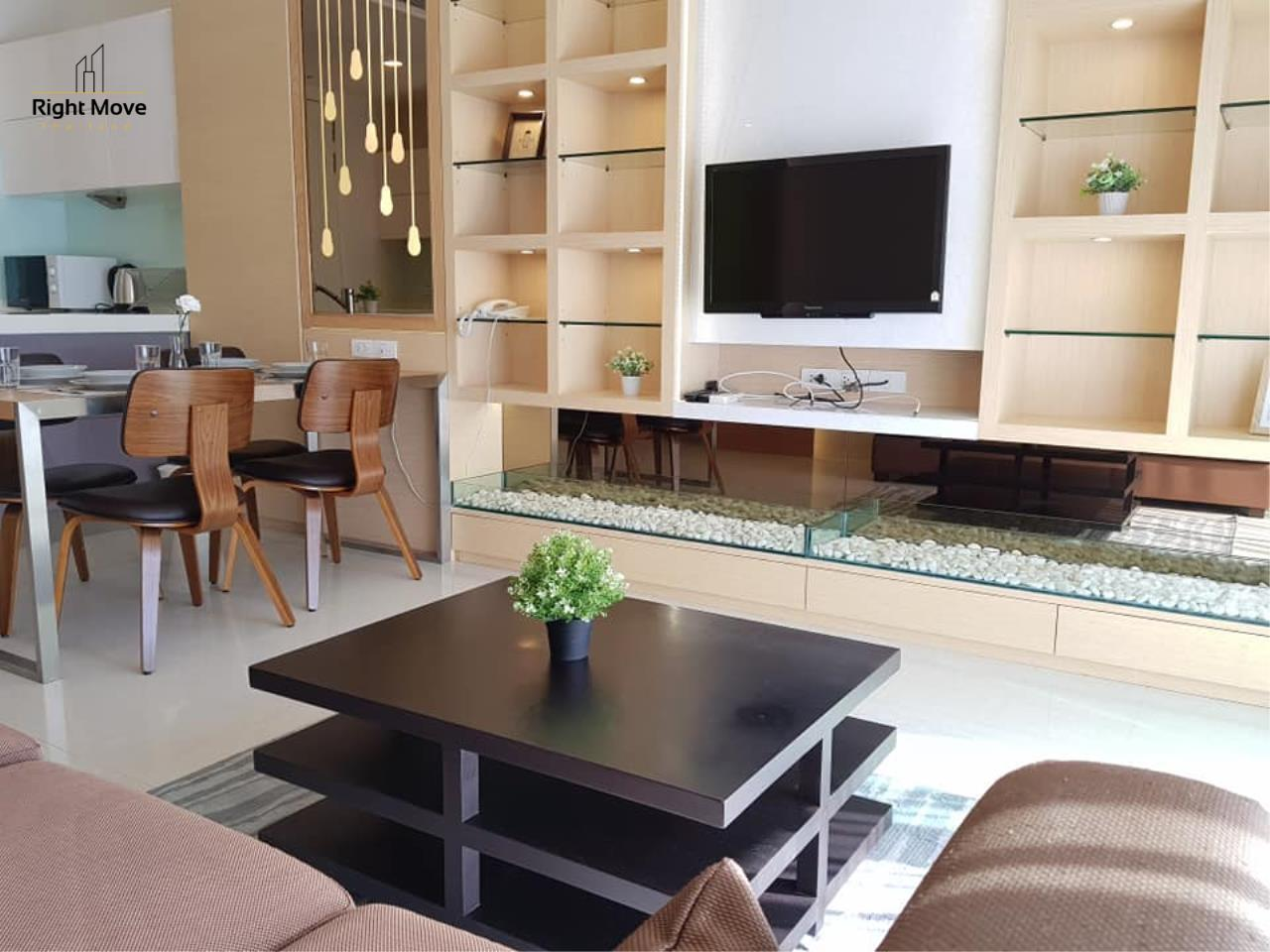 Right Move Thailand Agency's CA6462 Q Langsuan for rent - 2 bedrooms - 92 sqm. - High Floor 1