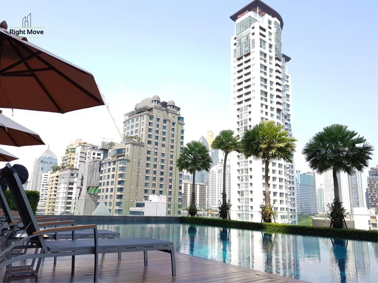 Right Move Thailand Agency's CA6462 Q Langsuan for rent - 2 bedrooms - 92 sqm. - High Floor 9