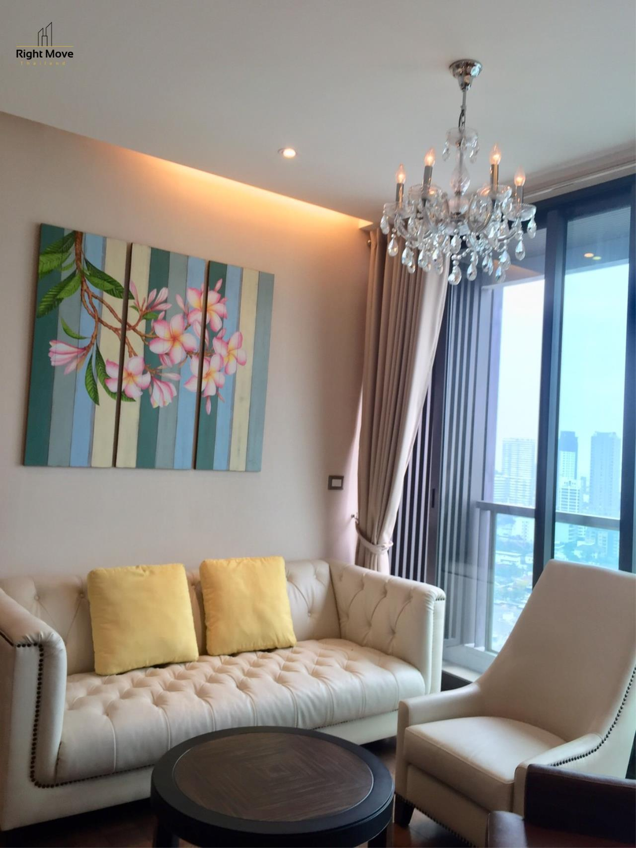 Right Move Thailand Agency's CA6532 The Address 28 For Rent 55,000 THB - 2 Bedrooms - 67 Sqm 1