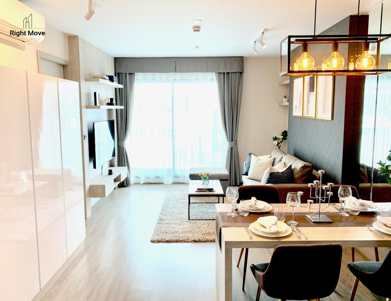 Right Move Thailand Agency's CA6603 Rhythm Ekkamai For Rent 70,000 THB 2 Bedrooms 70 Sqm 1