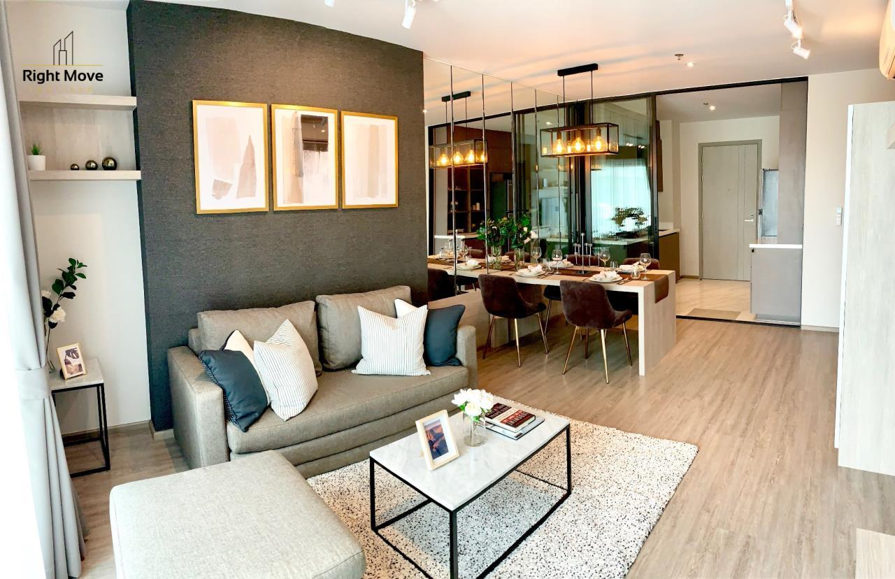 Right Move Thailand Agency's CA6603 Rhythm Ekkamai For Rent 70,000 THB 2 Bedrooms 70 Sqm 4