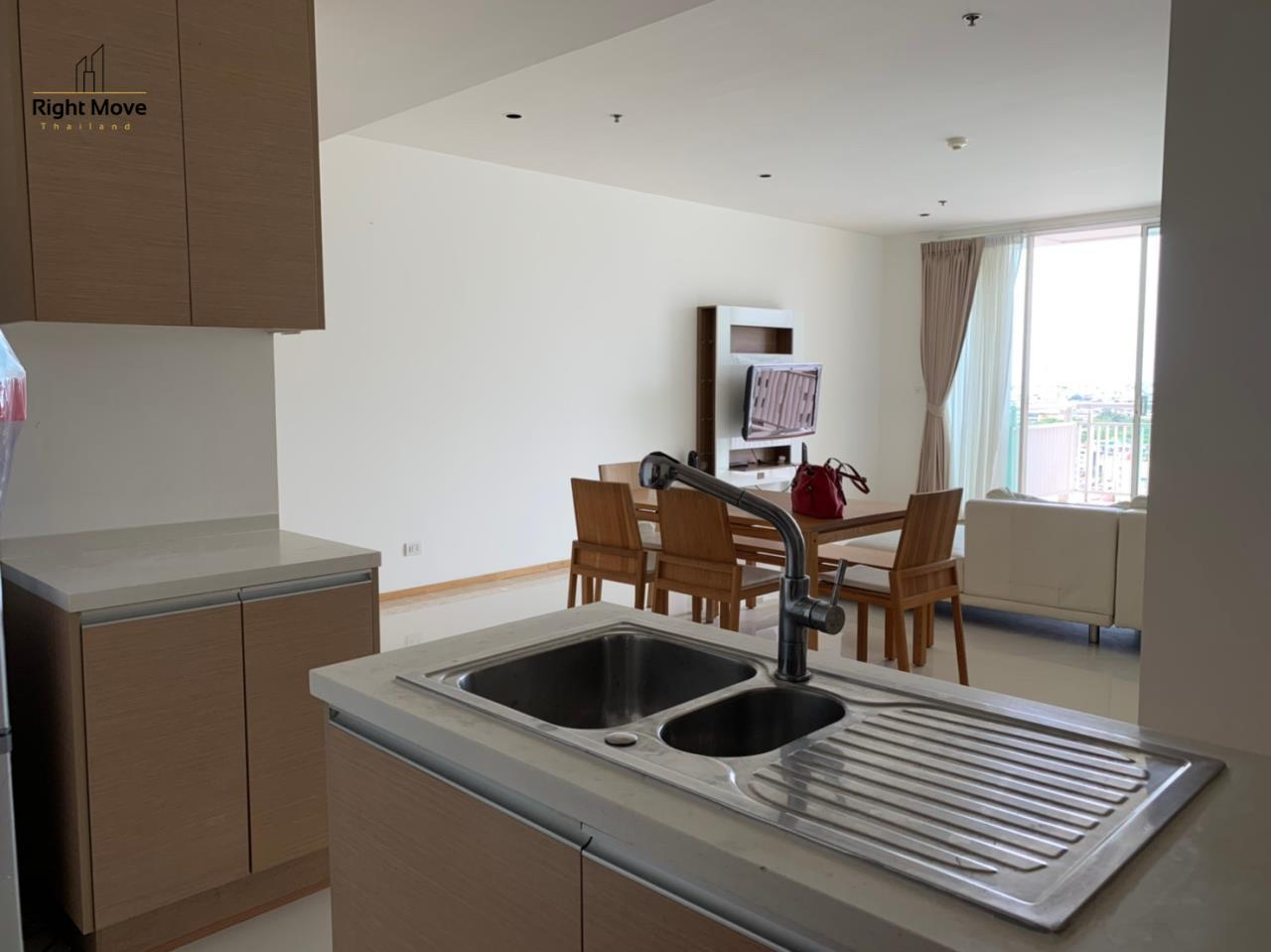 Right Move Thailand Agency's CA6617 Emprice Place For Rent 55,000 THB 2 Bedrooms 100 Sqm  11