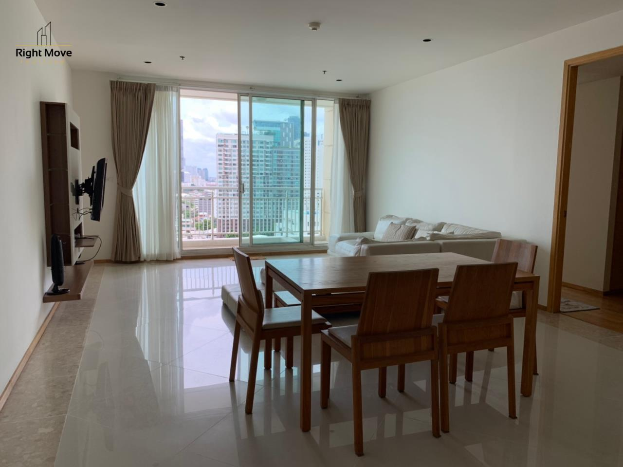 Right Move Thailand Agency's CA6617 Emprice Place For Rent 55,000 THB 2 Bedrooms 100 Sqm  1