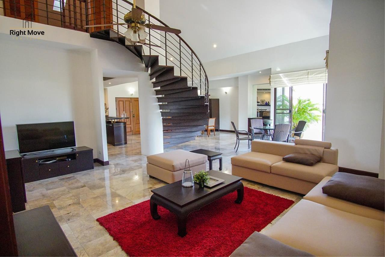 Right Move Thailand Agency's CA6836 Duplex Apartment For Rent 110,000 THB 4+1 Bedrooms 420 Sqm 1