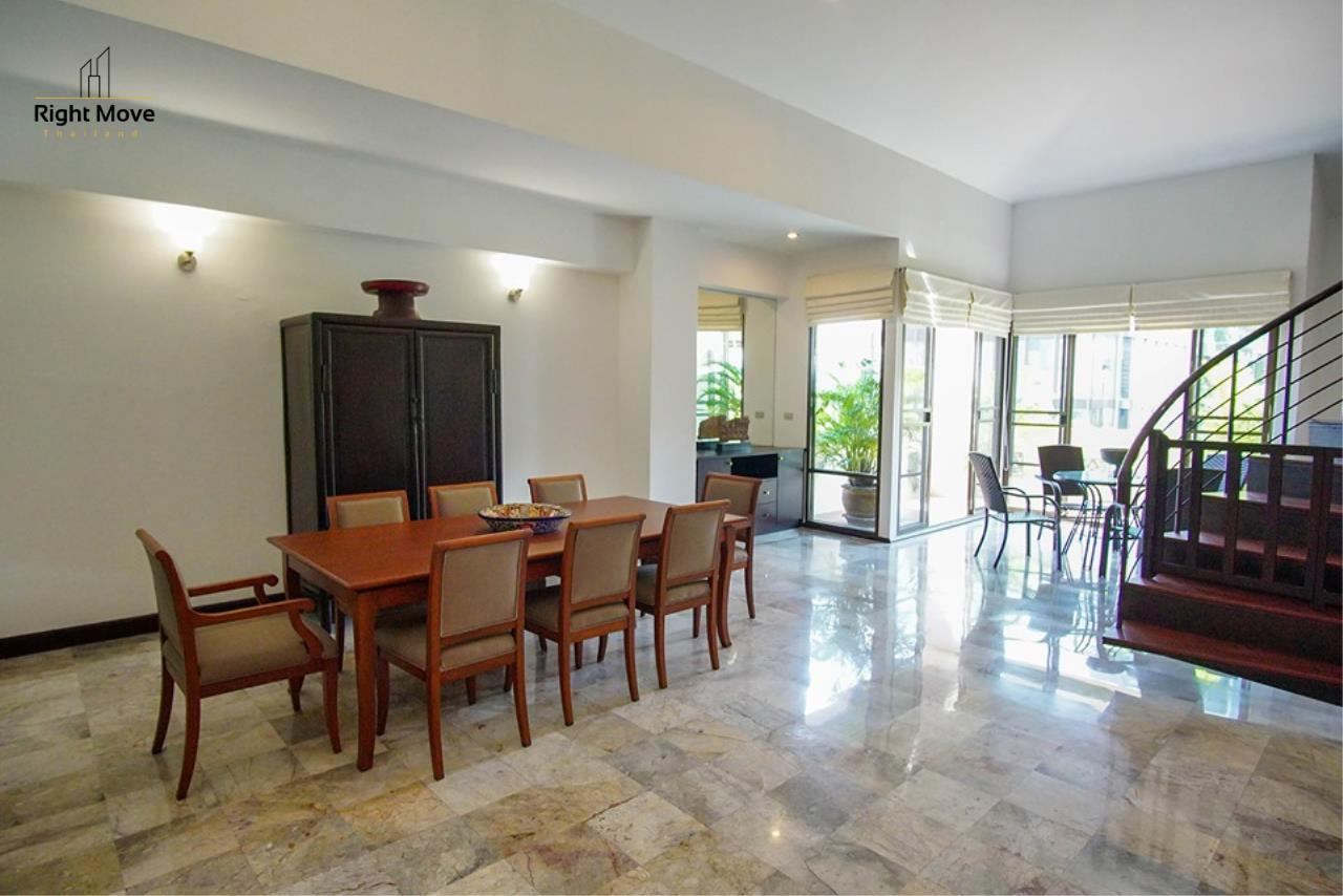 Right Move Thailand Agency's CA6836 Duplex Apartment For Rent 110,000 THB 4+1 Bedrooms 420 Sqm 4