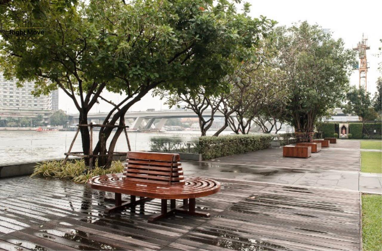 Right Move Thailand Agency's CA6976 The River For Rent 60,000THB  77 Square meters 2 Bedrooms 2 Bathrooms 17