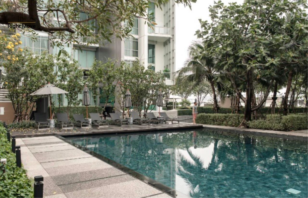 Right Move Thailand Agency's CA6976 The River For Rent 60,000THB  77 Square meters 2 Bedrooms 2 Bathrooms 20