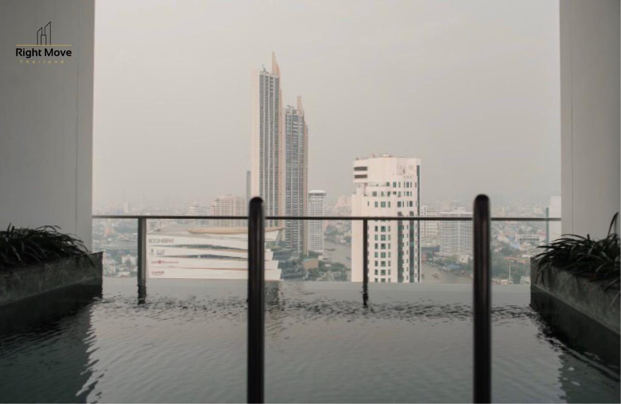 Right Move Thailand Agency's CA6976 The River For Rent 60,000THB  77 Square meters 2 Bedrooms 2 Bathrooms 21