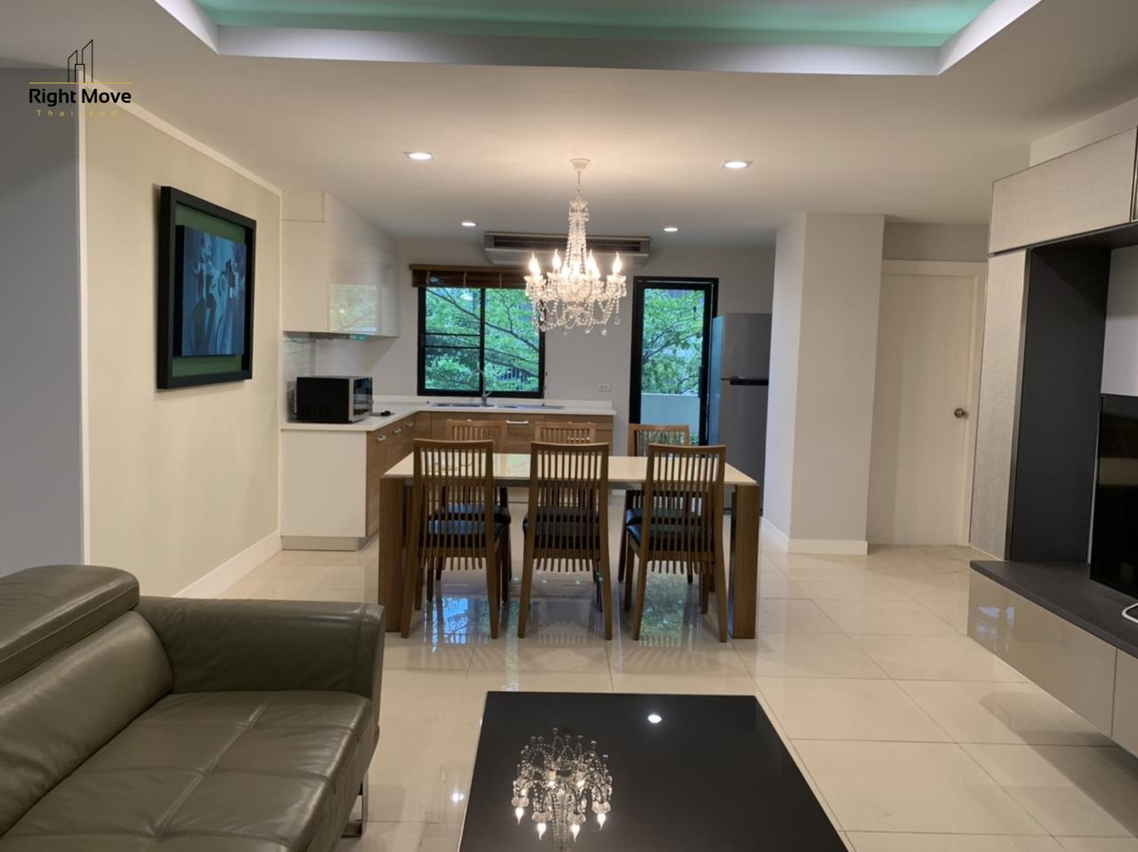 Right Move Thailand Agency's CA7083 Beverly Hills Mansion For Rent 43,000 THB 2 Bedrooms 133.95 1