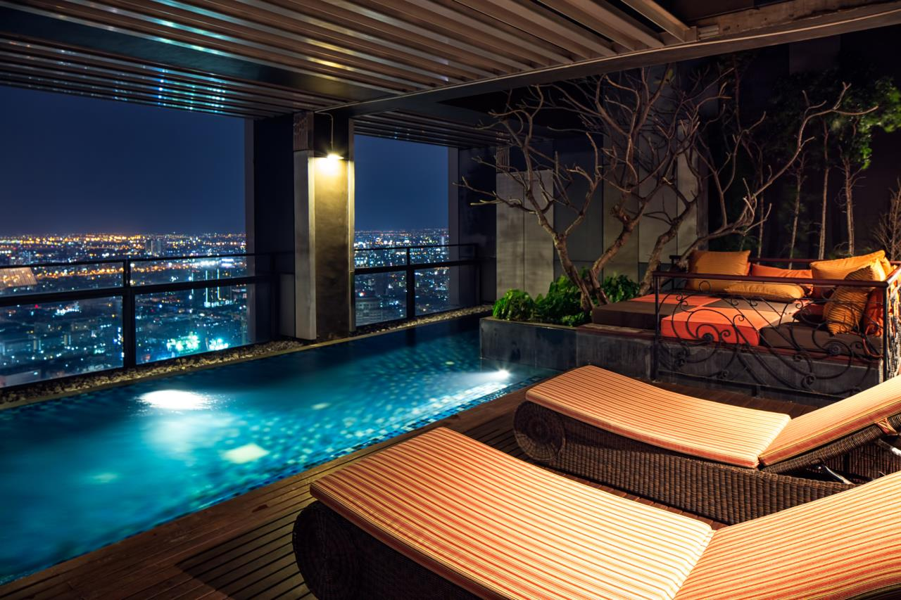 Right Move Thailand Agency's CS2103 The Met Penthouse For Sale and rent - 4 Bedrooms - 545 Sqm - Private Pool 1