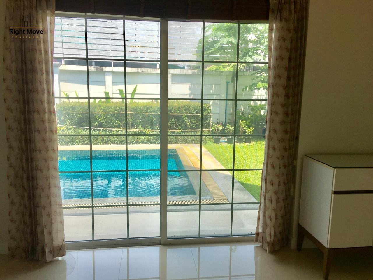 Right Move Thailand Agency's HR321 House for rent - 170,000 THB - 4 Bedrooms - 500 Sqm - Private Pool 5