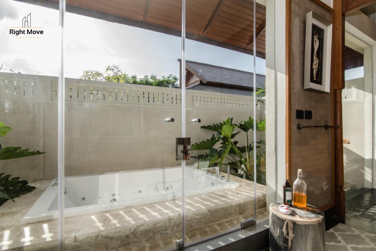 Right Move Thailand Agency's HR853 Hua Hin Villa for sale 200,000,000 THB - 2 Rai - Private Pool 11