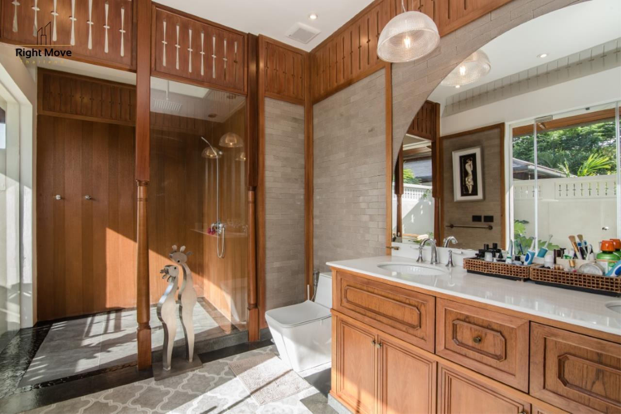 Right Move Thailand Agency's HR853 Hua Hin Villa for sale 200,000,000 THB - 2 Rai - Private Pool 12