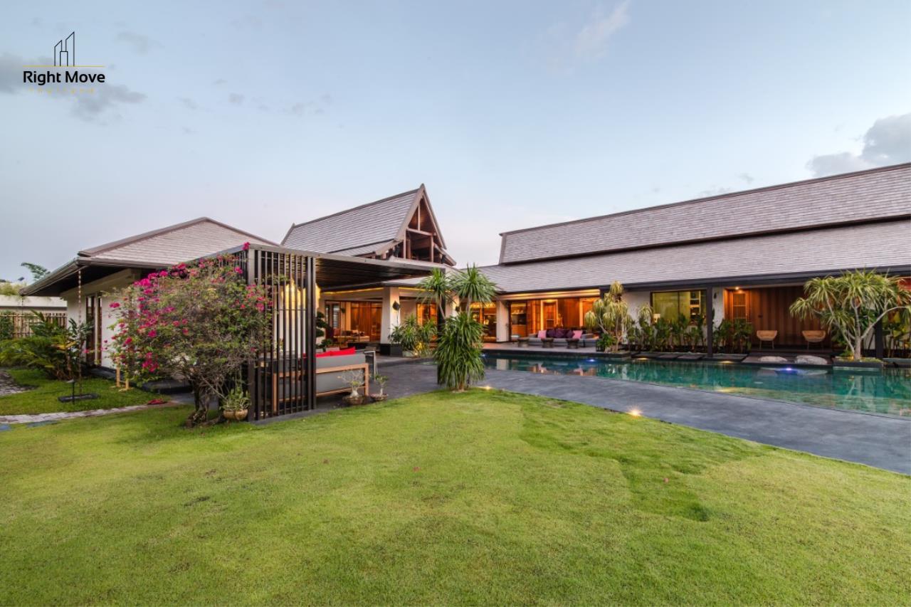 Right Move Thailand Agency's HR853 Hua Hin Villa for sale 200,000,000 THB - 2 Rai - Private Pool 4