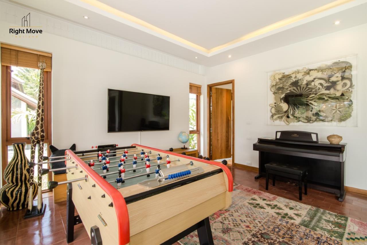 Right Move Thailand Agency's HR853 Hua Hin Villa for sale 200,000,000 THB - 2 Rai - Private Pool 17