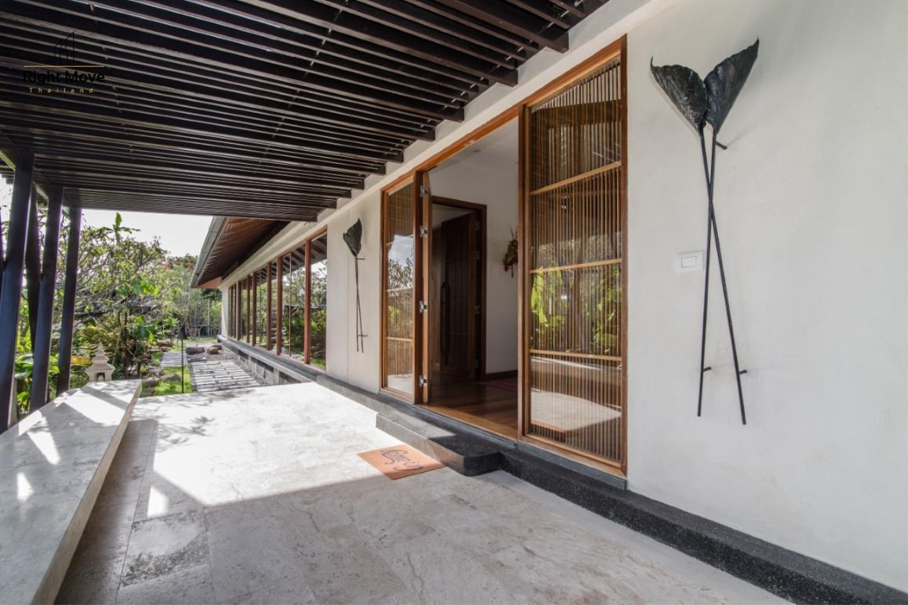 Right Move Thailand Agency's HR853 Hua Hin Villa for sale 200,000,000 THB - 2 Rai - Private Pool 7