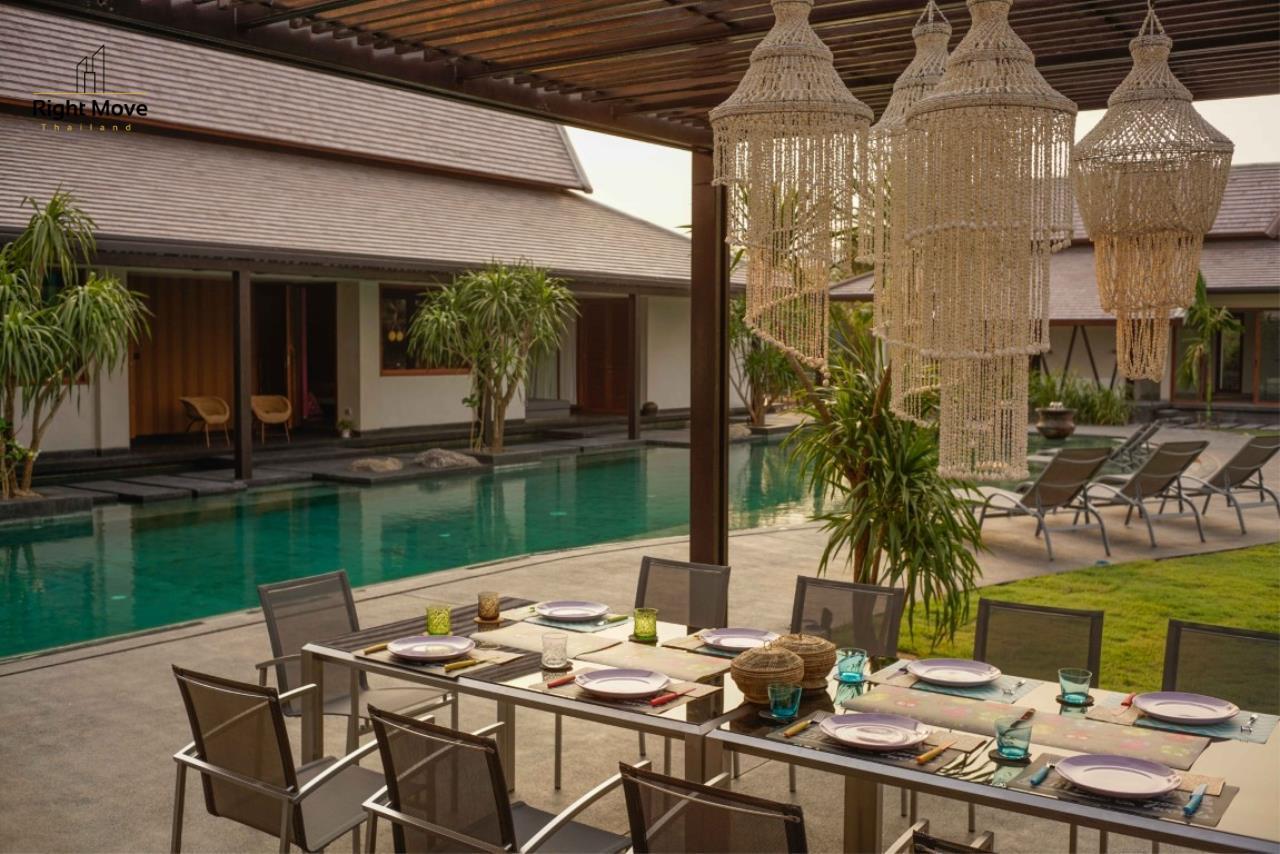Right Move Thailand Agency's HR853 Hua Hin Villa for sale 200,000,000 THB - 2 Rai - Private Pool 22