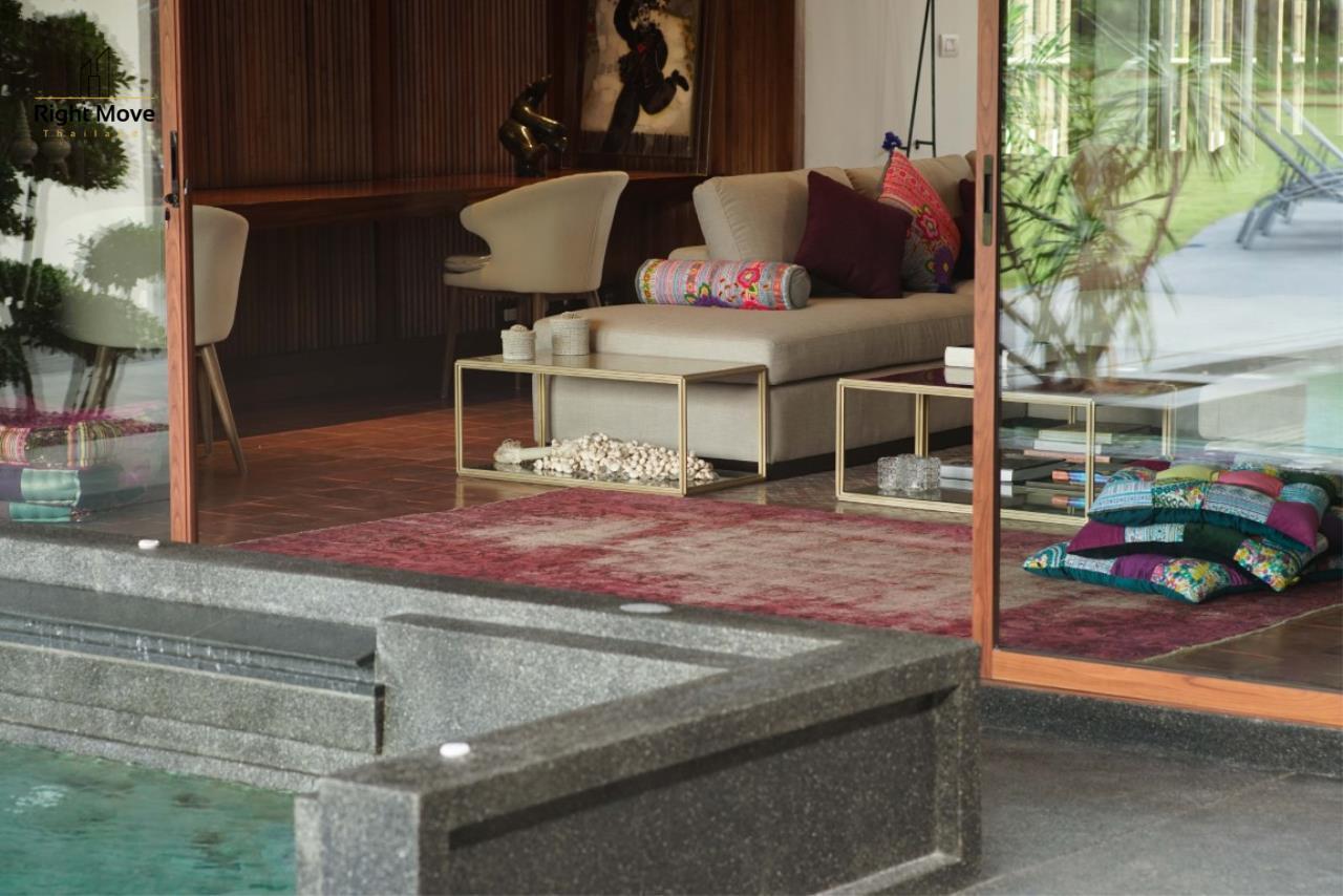 Right Move Thailand Agency's HR853 Hua Hin Villa for sale 200,000,000 THB - 2 Rai - Private Pool 13